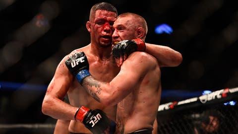 Fighting Nate Diaz twice