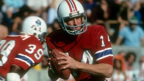 Steve Grogan, 1975 — Round 5, Pick 116 (New England Patriots)