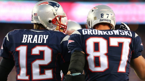 Tom Brady and Rob Gronkowski will play this time