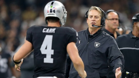 Raiders (+1) over BUCCANEERS (Over/under: 49.5)