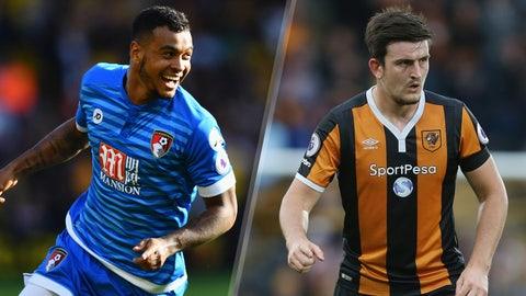 Saturday: Bournemouth vs. Hull City