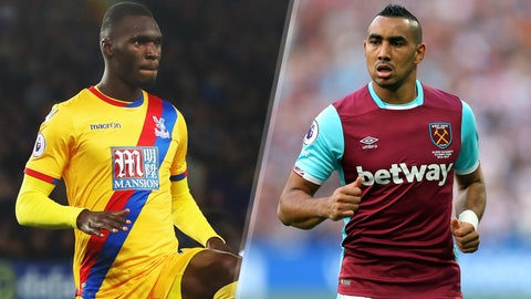 Saturday: Crystal Palace vs. West Ham