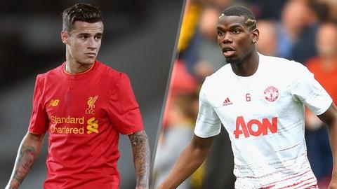 Monday: Liverpool vs. Manchester United
