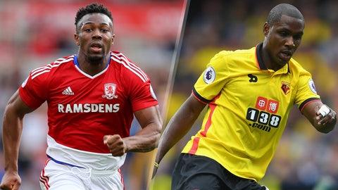 Sunday: Middlesbrough vs. Watford