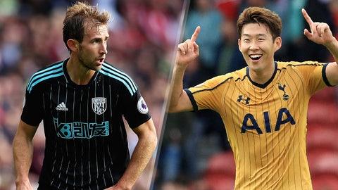 Saturday: West Brom vs. Tottenham