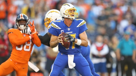 Philip Rivers in the pocket.