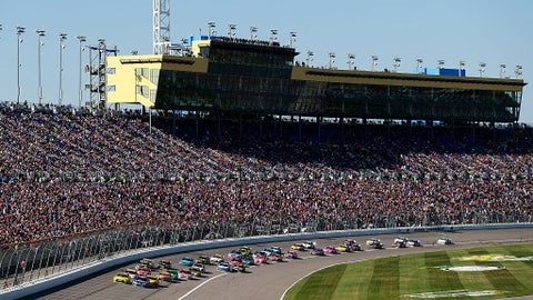 Sprint Cup starting lineup for Hollywood Casino 400