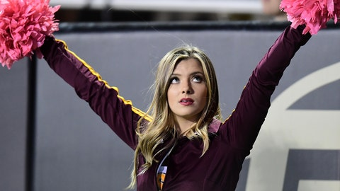 ASU cheerleader