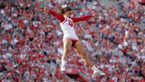 Indiana cheerleader