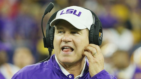 Les Miles, LSU (fired) (salary: $4,385,567)