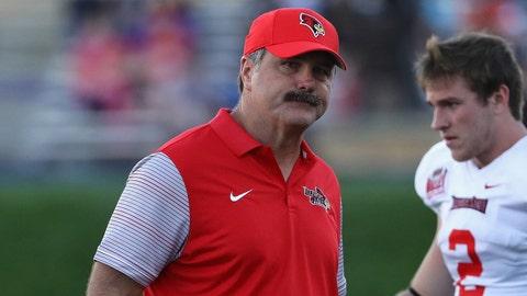 Illinois State head coach Brock Spack