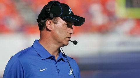 Air Force head coach Troy Calhoun