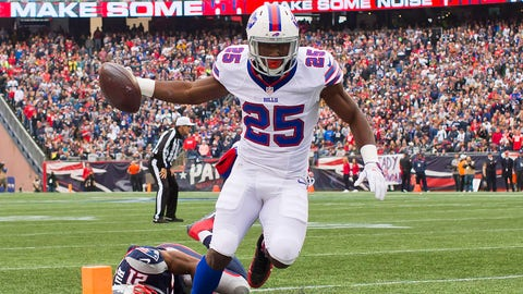 The Bills are depleted on offense