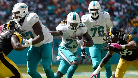 Miami Dolphins (last week: 30)
