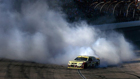 NASCAR Sprint Cup Series Hollywood Casino 400 race results
