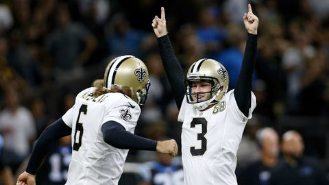 Saints 41, Panthers 38