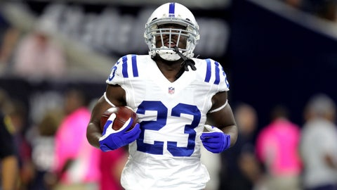 Frank Gore rushing yards UNDER 54.5
