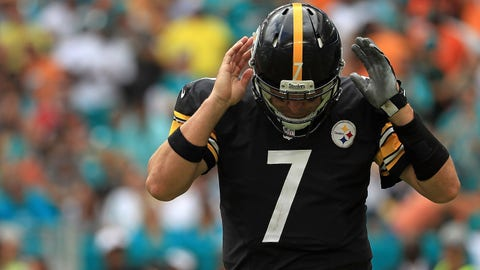 Ben Roethlisberger, QB, Steelers (knee)
