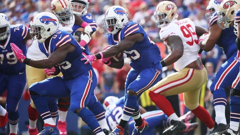 The San Francisco 49ers linebackers can't stop anything