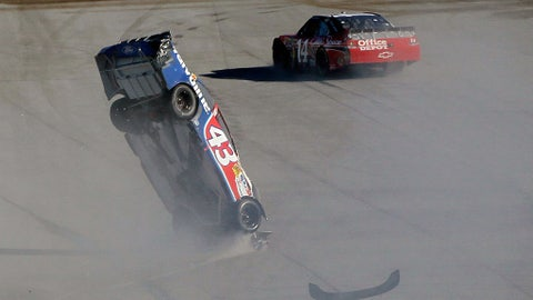 AJ Allmendinger out of control, 2010