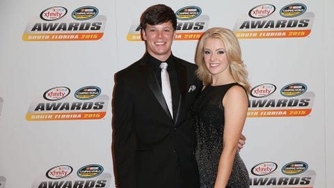 Erik Jones and Hayley Burnash