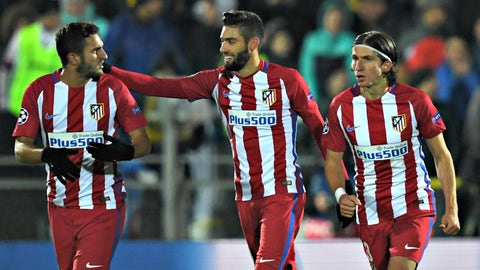 Atletico have another young gem in Yannick Carrasco