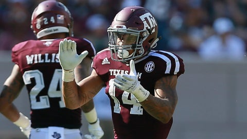 Rams: Justin Evans, S, Texas A&M