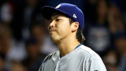 Maeda poor vs. Padres