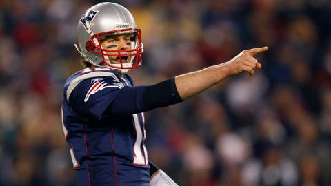 Tom Brady restructured his contract to make room for Moss