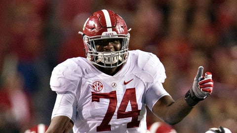 Outland Trophy: Cam Robinson, Alabama