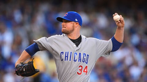 NL Cy Young: Jon Lester, Chicago Cubs