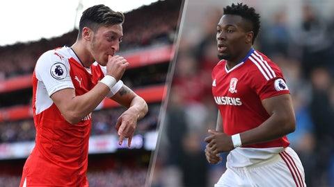 Saturday: Arsenal vs. Middlesbrough