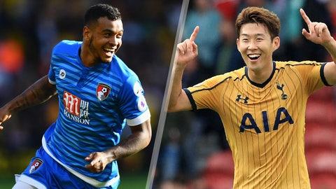 Saturday: Bournemouth vs. Tottenham