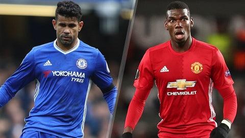 Sunday: Chelsea vs. Manchester United