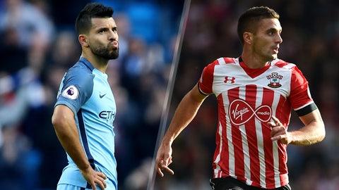 Sunday: Manchester City vs. Southampton