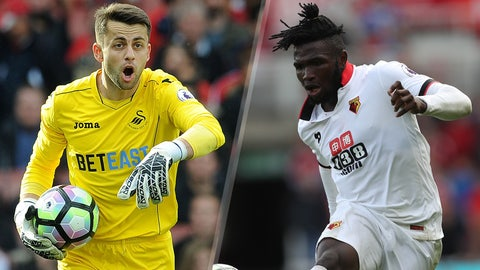 Saturday: Swansea City vs. Watford