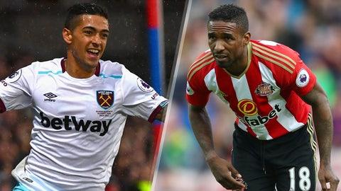 Saturday: West Ham United vs. Sunderland