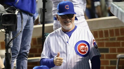 Joe Maddon is a baseball budda
