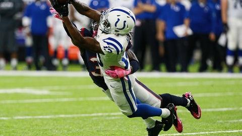 T.Y. Hilton, WR, Colts (hip): Active