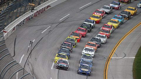 Starting lineup for Hellman's 500 at Talladega