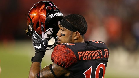 Donnel Pumphrey, San Diego State, RB