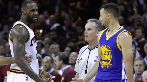 If Steph Curry were healthy last year, the Warriors would be going for a threepeat