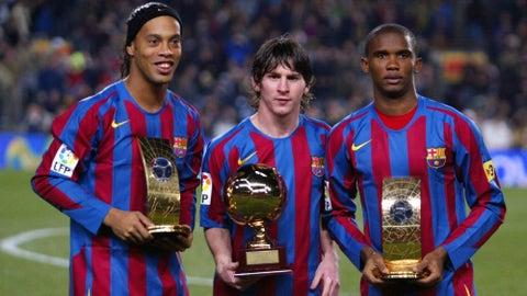 2005: Lionel Messi