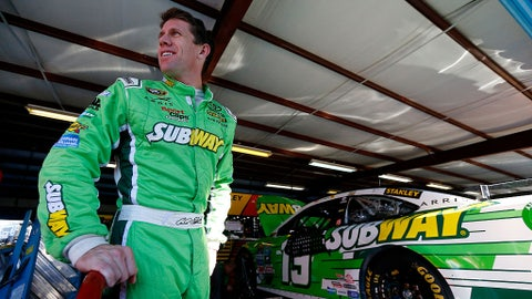 Carl Edwards, 110 points