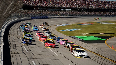 Final results for the Hellmann's 500 at Talladega