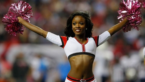 Falcons cheerleader