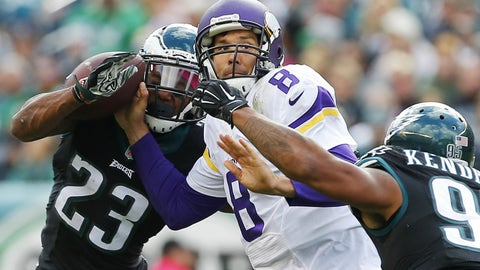 Eagles 21, Vikings 10