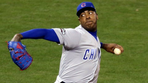 Can Aroldis Chapman do an Andrew Miller impersonation?
