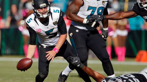 Blake Bortles is probably not a franchise quarterback