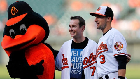 Now ... he's rooting for the Orioles?!